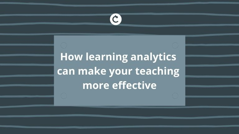 How learning analytics can make your teaching more effective