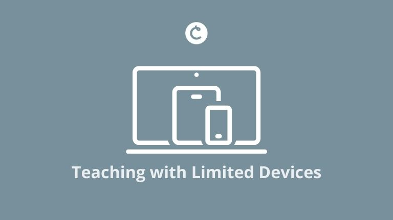 Teaching with Limited Devices