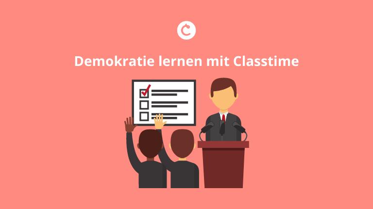 Demokratie lernen mit Classtime