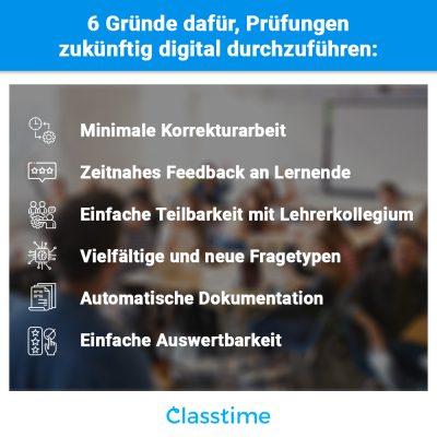 Digitale Prüfungen