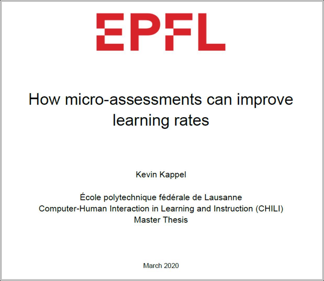 Wie Micro-Assessments den Lernfortschritt positiv beeinflussen