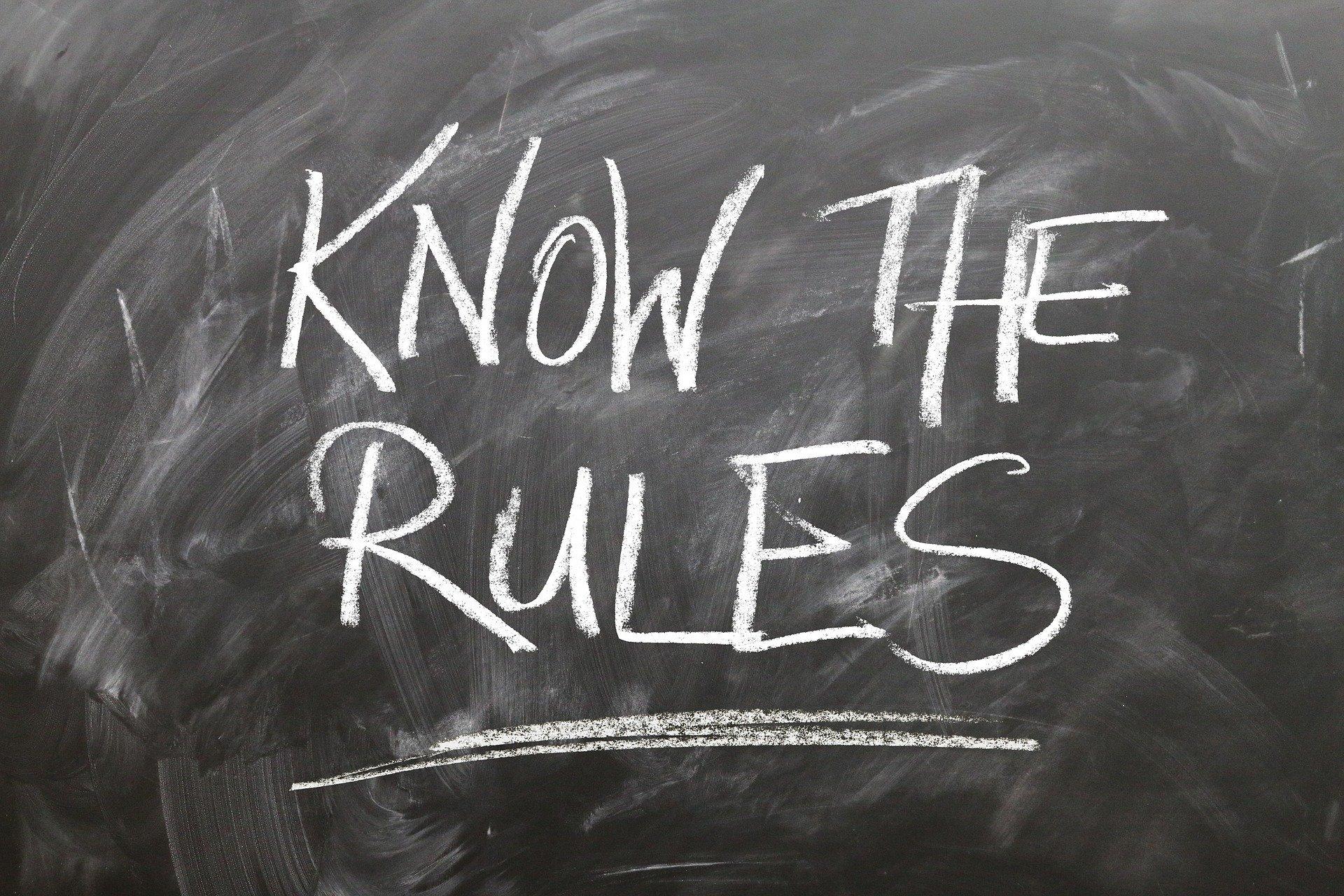 Regeln für digitale Prüfungen