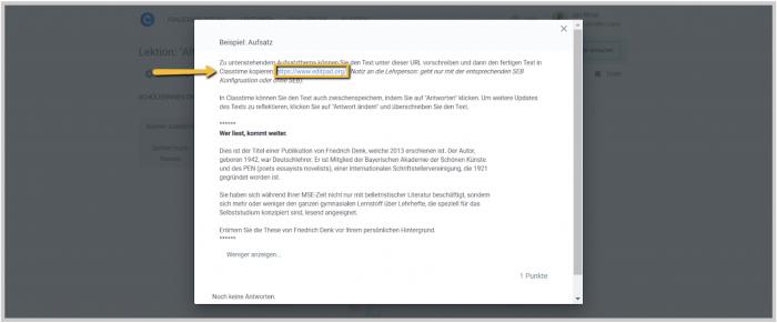 Safe Exam Browser (SEB) auf Classtime anwenden